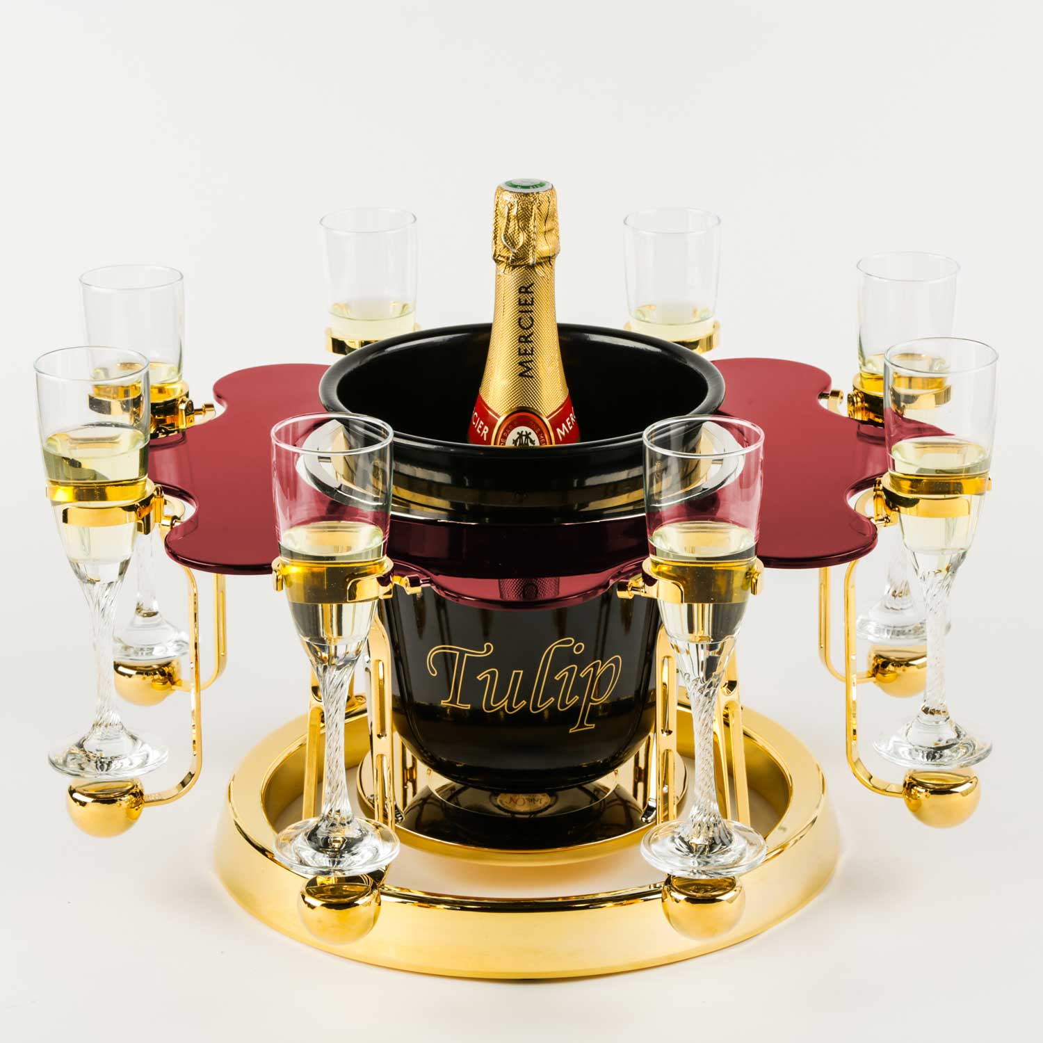 Tulip By Germain luxury champagne bucket Elegance edition Mercier
